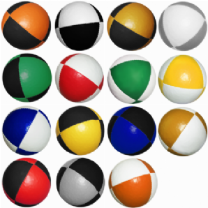 Jac Products 8 Panel Thud Juggling Ball 120g